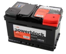 Batterien Powerblock
